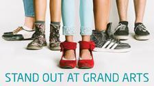 Stand out at Grand Arts