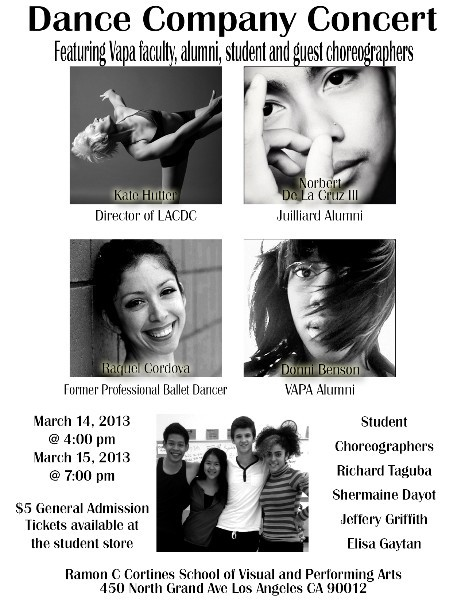 Dance Company Concert is almost here!